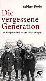 vergessene generation kriegskinder